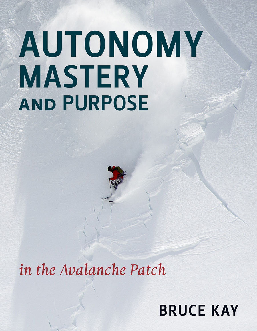 Autonomy Mastery and Purpose in the Avalanche Patch - by Bruce Kay